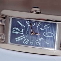 Cartier Tank Americane 18K Solid White Gold