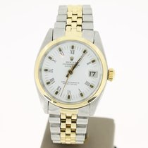 Rolex Datejust Steel/Gold White Roman Dial (B&SERVICEPAPER...