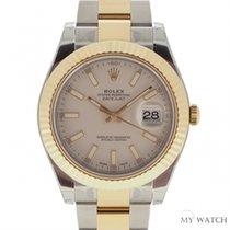 ロレックス (Rolex) Datejust II Gold And Steel White116333(NEW)