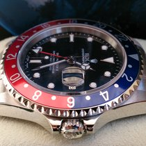 Rolex GMT II ST REF 16710 +NEAR NOS +Box & Papiere