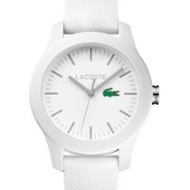Lacoste 12.12 Womens Watch - White Dial & Case - Rubber...