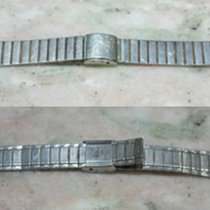 Zenith vintage steel and gold plated bracelet mm19.5 used...