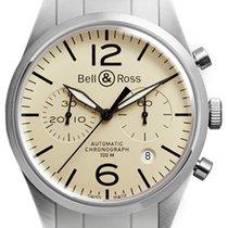 Bell & Ross BR 126 Original Beige NEU mit Box + Papieren