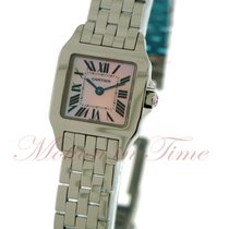 Cartier Santos Demoiselle Small, Pink Mother of Pearl Dial -...
