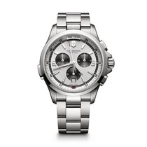 Victorinox Swiss Army Night Vision Chronograph, white dial,...