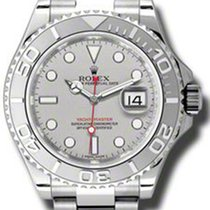 Rolex Yacht-Master Steel and Platinum 116622 pl