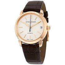 Ulysse Nardin Classico Lady Eggshell Dial Leather Strap...