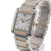 Cartier Tank Francaise Quartz No Date Ladies watch WE110005