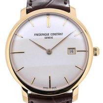 Frederique Constant Slim Line Automatic 40 Gold Plated Details