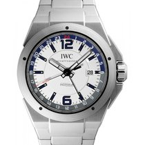 IWC Schaffhausen IW324404 Ingenieur Dual Time White Arabic...
