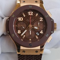 Hublot Big Bang Chronograph 44mm Brown Dial Rose Gold Brown...