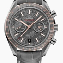 Omega Speedmaster Moonwatch Chronograph Co-Axial Meteorite...
