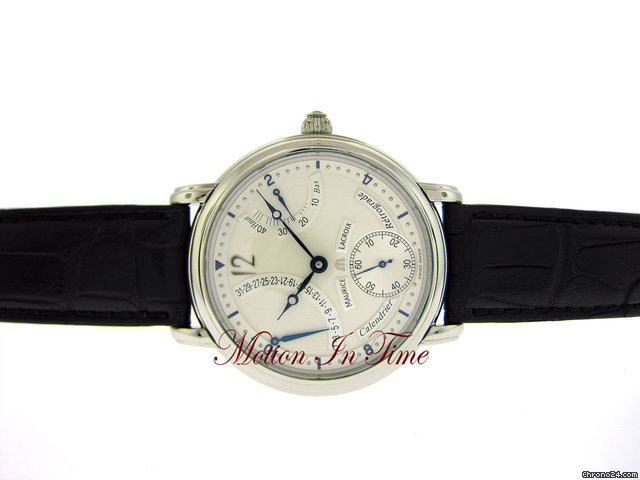 Maurice Lacroix MASTERPIECE CALENDRIER RETROGRADE 43mm STAINLESS STEEL