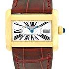 """Cartier """"Tank Divan"""" Strapwatch."""