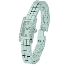 Cartier Lanieres 18KT White Gold Diamonds Case