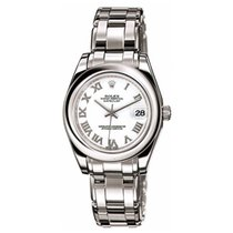 Rolex Masterpiece Pearlmaster 18K Solid White Gold