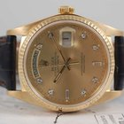 Rolex Gold Day Date President  Factory Champagne Diamond.