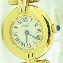 Cartier Must De Cartier Ref 1902 Ladies Gold Plated Quartz...