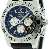 Breitling Chronomat GMT 47 Chronograph Watch AB0413B9/BD17