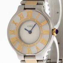 Cartier Must De Damenuhr Quarz Stahl/Gold