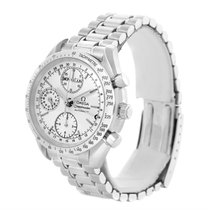 Omega Speedmaster Silver Dial Automatic Day Date Mens Watch...