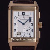 Jaeger-LeCoultre Reverso Grande GMT rose gold box & paper