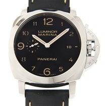 Panerai New  Luminor Stainless Steel Black Automatic PAM00359