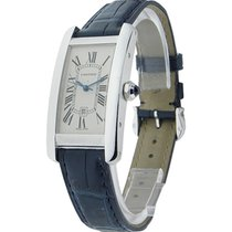 Cartier W2603656 Tank Americaine in White Gold - Mid Size - On...