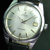 Omega Seamaster Automatic Date Steel Mens Watch 166010
