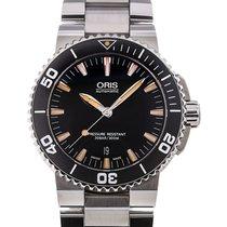 Oris Aquis Date 43 Black Dial