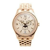 Patek Philippe New  Complications 18k Rose Gold Pink Automatic...
