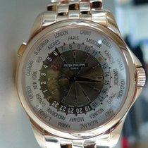 Patek Philippe WORLD TIME PINK GOLD BRACELET 5130/1R