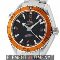 Omega Seamaster Planet Ocean 600 M Co-Axial 46mm Orange Bezel...