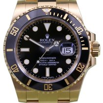 Rolex Submariner 116618LN 116618 Men's Black 40mm Solid...