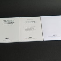 IWC Portugieser Booklet + Warranty Booklet + Cleaning Coth 2012