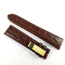 Cartier 20mm / 18mm dark brown alligator leather strap KD98BW25