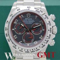 Rolex Daytona White Gold Racing Dial NEW