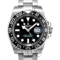 勞力士 (Rolex) GMT-Master II Black/Steel Ø40mm - 116710 LN
