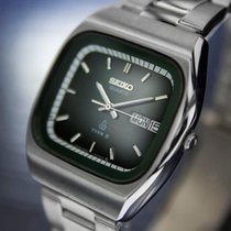 Seiko Mens Vintage Quartz Type 2 Day Date Stainless Steel...