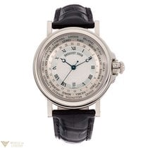 Breguet Marine «Hora Mundi» 24 Time Zones White Gold Men's...