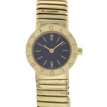 Bulgari Ladies  Tubogas 18K Yellow Gold Watch BB 23 2T