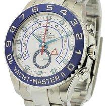 Rolex Unworn 116680 Yacht-Master II in Stainless Steel - on...