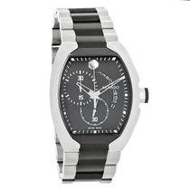 Movado Verto Mens Black TiCN Swiss Chronograph Quartz Watch...