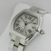 Cartier Roadster Mens Automatic Stainless Steel w62025v3