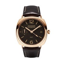 Panerai Radiomir 3 Days GMT Oro Rosso  PAM00421 manual winding...