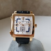 Ulysse Nardin Quadrato Dual Time 18K Gold