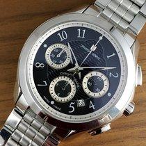Universal Genève Like New Okeanos Automatic Black Chronograph...
