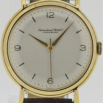 IWC Handaufzug Vintage 18k. Gelbgold
