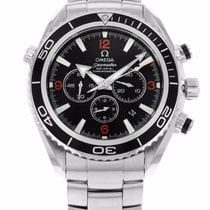 Omega 2210.51.00 Seamaster Planet Ocean 600M Men Chrono 45.5MM...