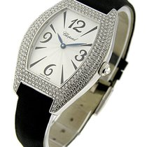 Chopard 13/7184 Classique Oval Ladies in White Gold with...